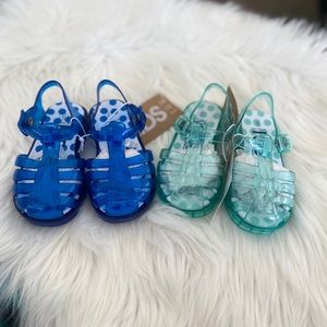 Two Pairs of jelly sandals by CottonOn Kids
